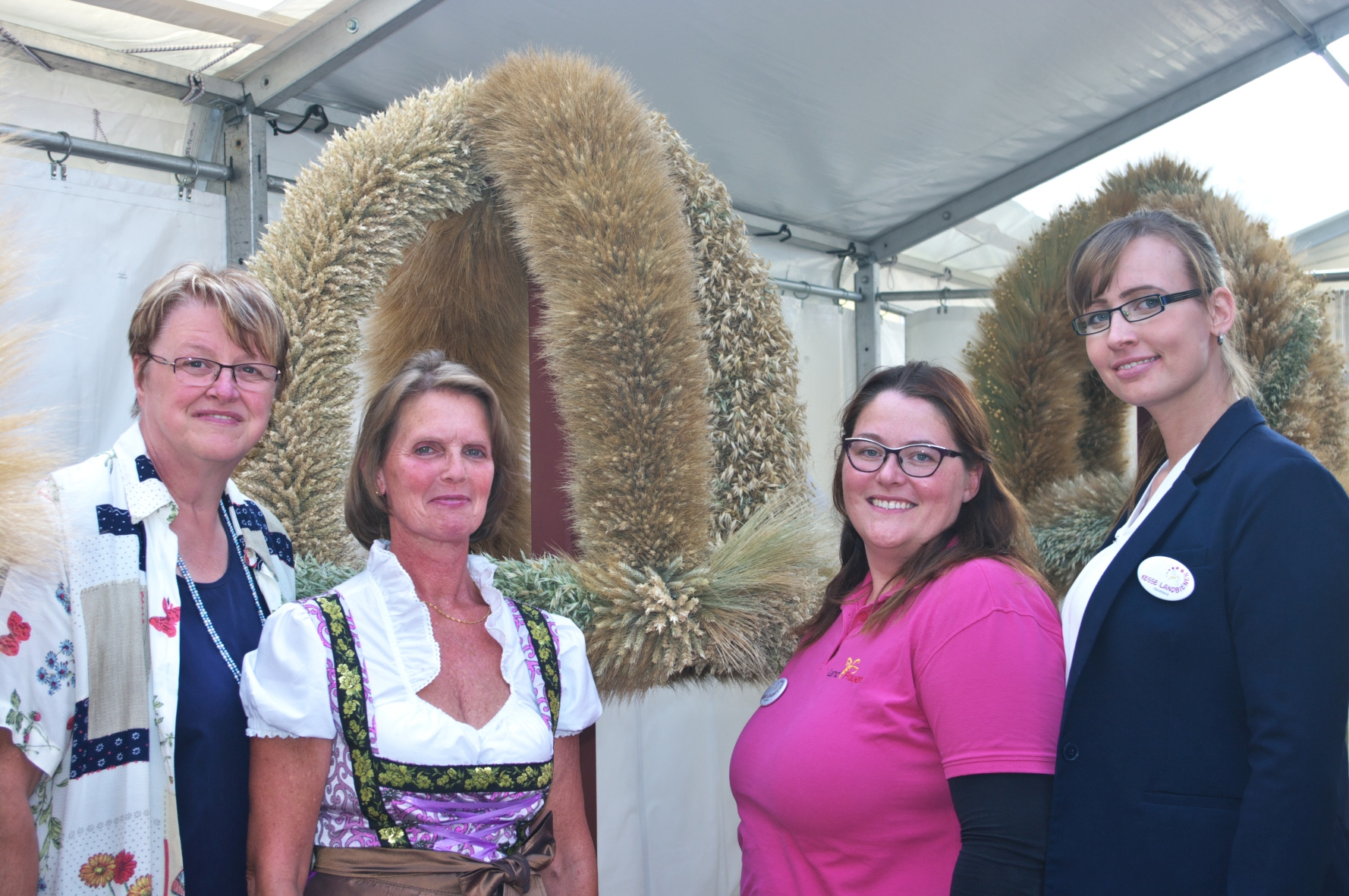 Havelländer Landfrauen beim Erntekronenwettbewerb 2018