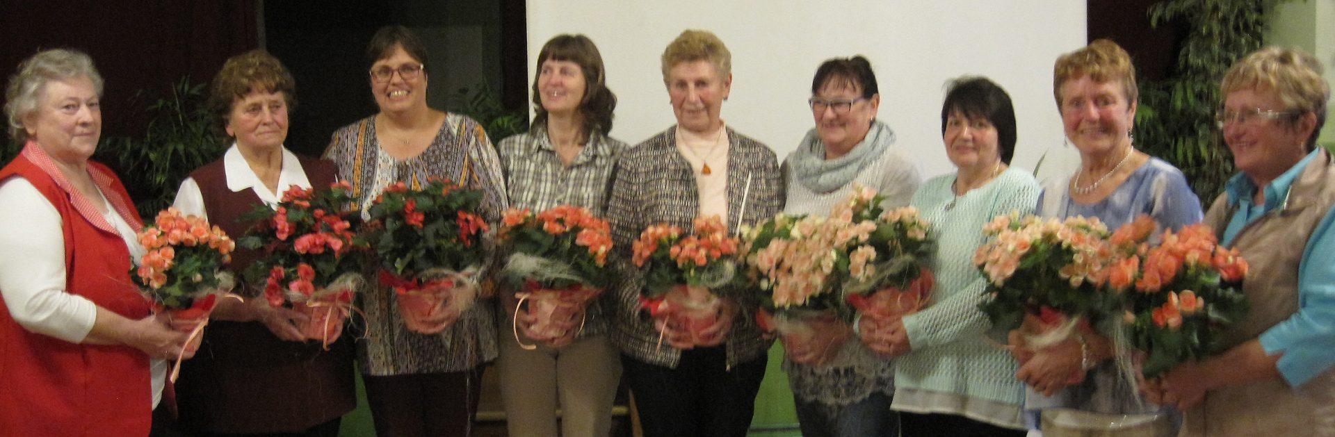 """Vorstand des Landfrauenverbandes """"Niederlausitz"""" e. V."""