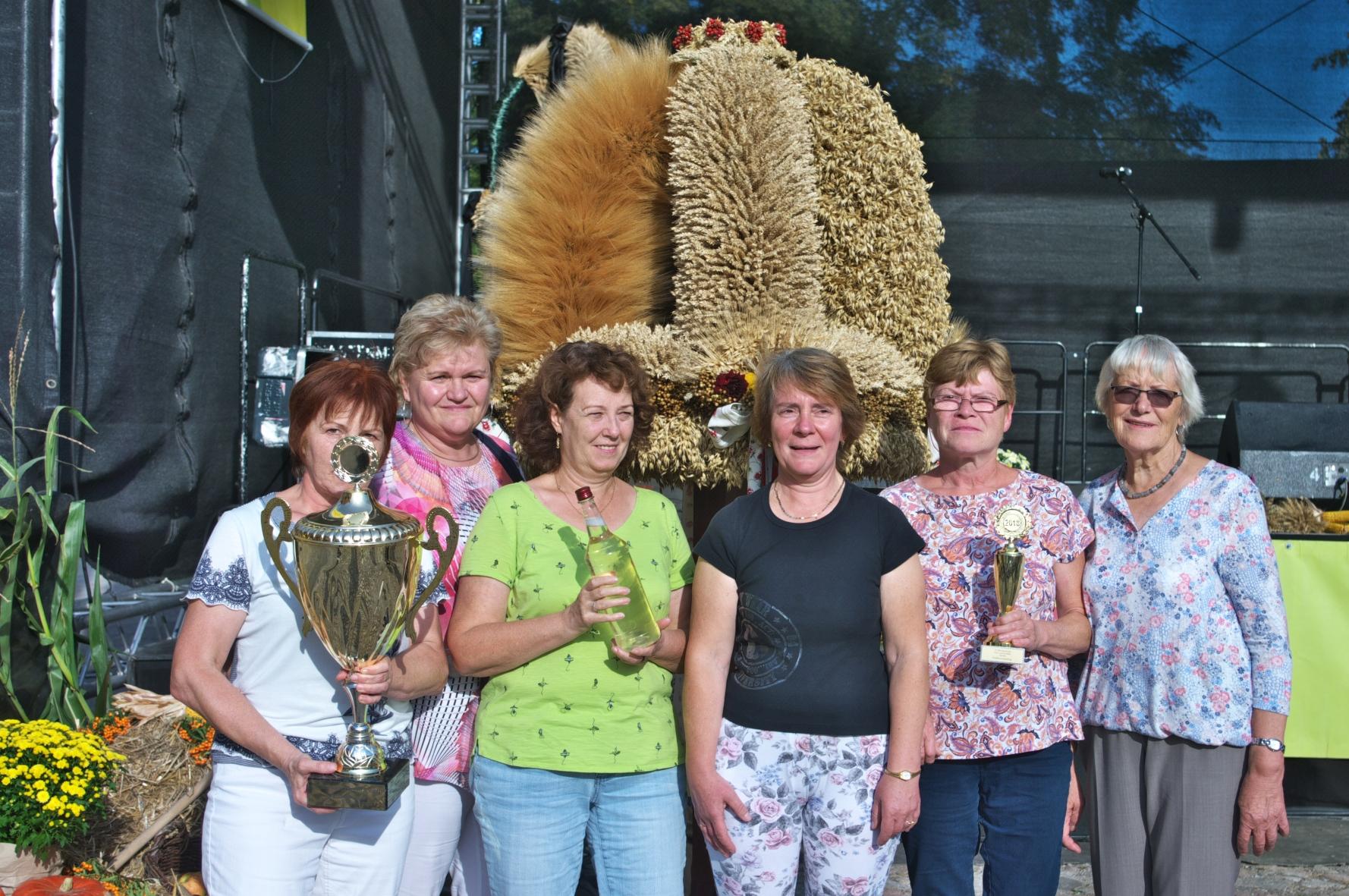 Ortsgruppe Falkenberg, Sieger beim Erntekronenwettbewerb 2018