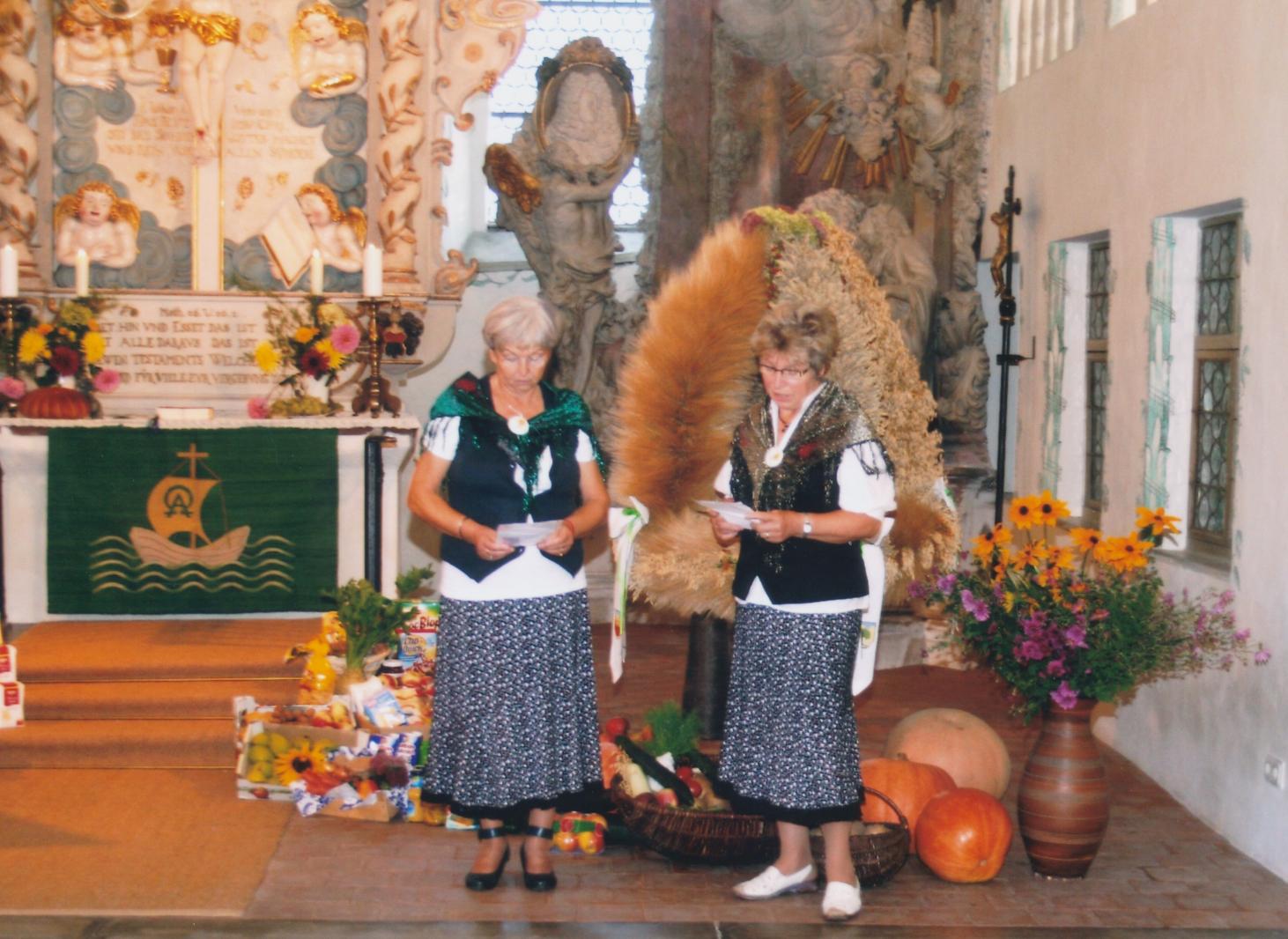 Erntedankfest in der Lindenauer Kirche