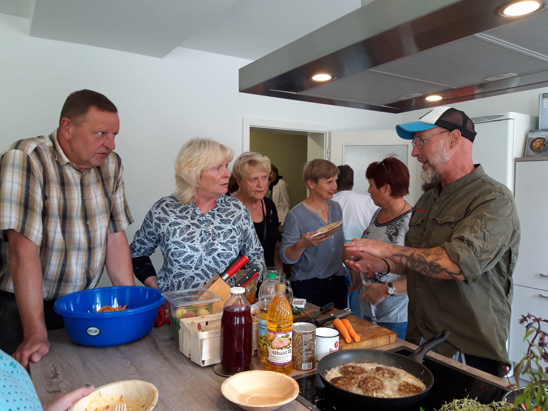 Vorführ- und Mitmachküche in Ragösen