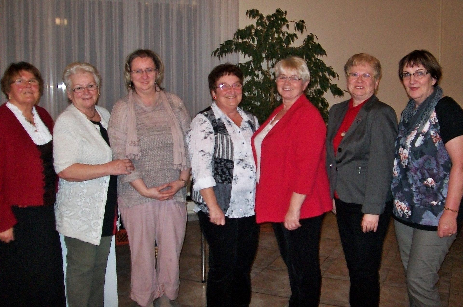 Vorstand der Pritzwalker Landfrauen